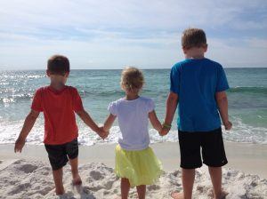 Our oldest 3 kids ~ Pensacola, FL ~ Sept 2015