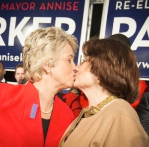 Annise Parker isn't ashamed of HER views but expects us to be ashamed of ours.