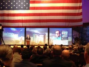 Todd Starnes speaking at 2014