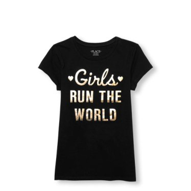 CP shirt for blog girls run the world