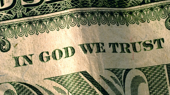 In God We Trust - Tithe Blog Pic